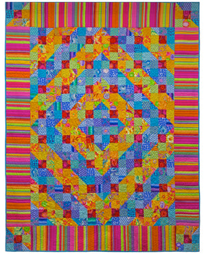 **Sun and Sea Quilt Kit - Quilts in Burano (Kaffe Fassett)