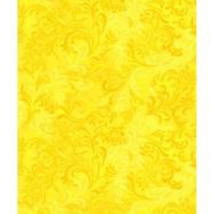"WILMINGTON WIDEBACK 108"" / 270cm Flourish Yellow 1056 6608 500.Priced per 25cm."