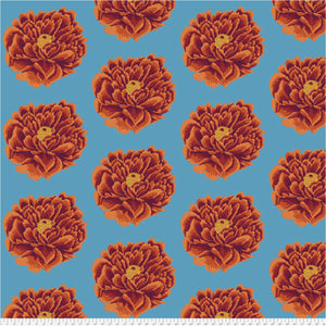 "Kaffe Fassett Collective WIDEBACK 108"" / 270 cms Full Blown Red - QBGP004.2RedX.Priced per 25cm"