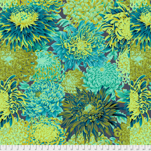 Kaffe Fassett Collective Japanese Chrysanthemum Forest PWPJ041.Priced per 25cm