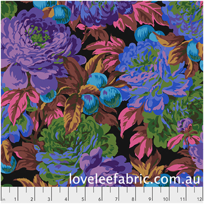 Kaffe Fassett Collective Luscious Black PWPJ011 - Feb 2020.Priced per 25cm