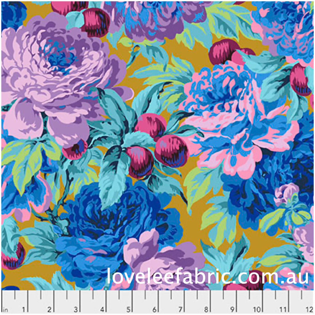 *Pre Order* Kaffe Fassett Collective Luscious Ochre PWPJ011 - Feb 2020.Priced per 25cm