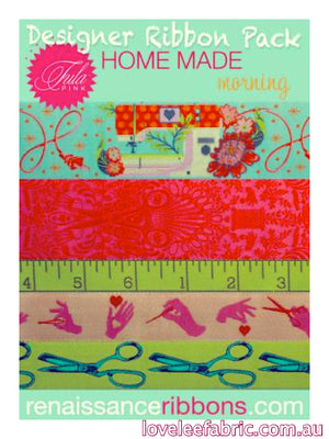 Renaissance Ribbon Pack Home Made by Tula Pink - Morning