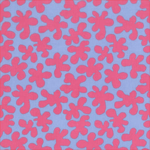 Kaffe Fassett Artisan Cotton PWKF005 - Squiggle Pink.Priced per 25cm
