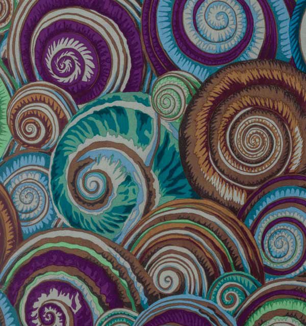 Kaffe Fassett Collective Spiral Shells Antique PWPJ073.Priced per 25cm