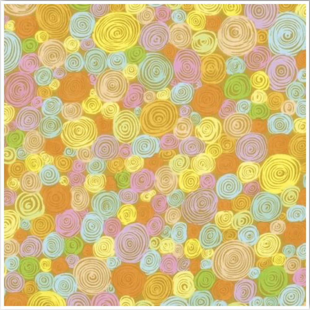 Kaffe Fassett Collective Rolled Paper Yellow PWGP158.Priced per 25cm