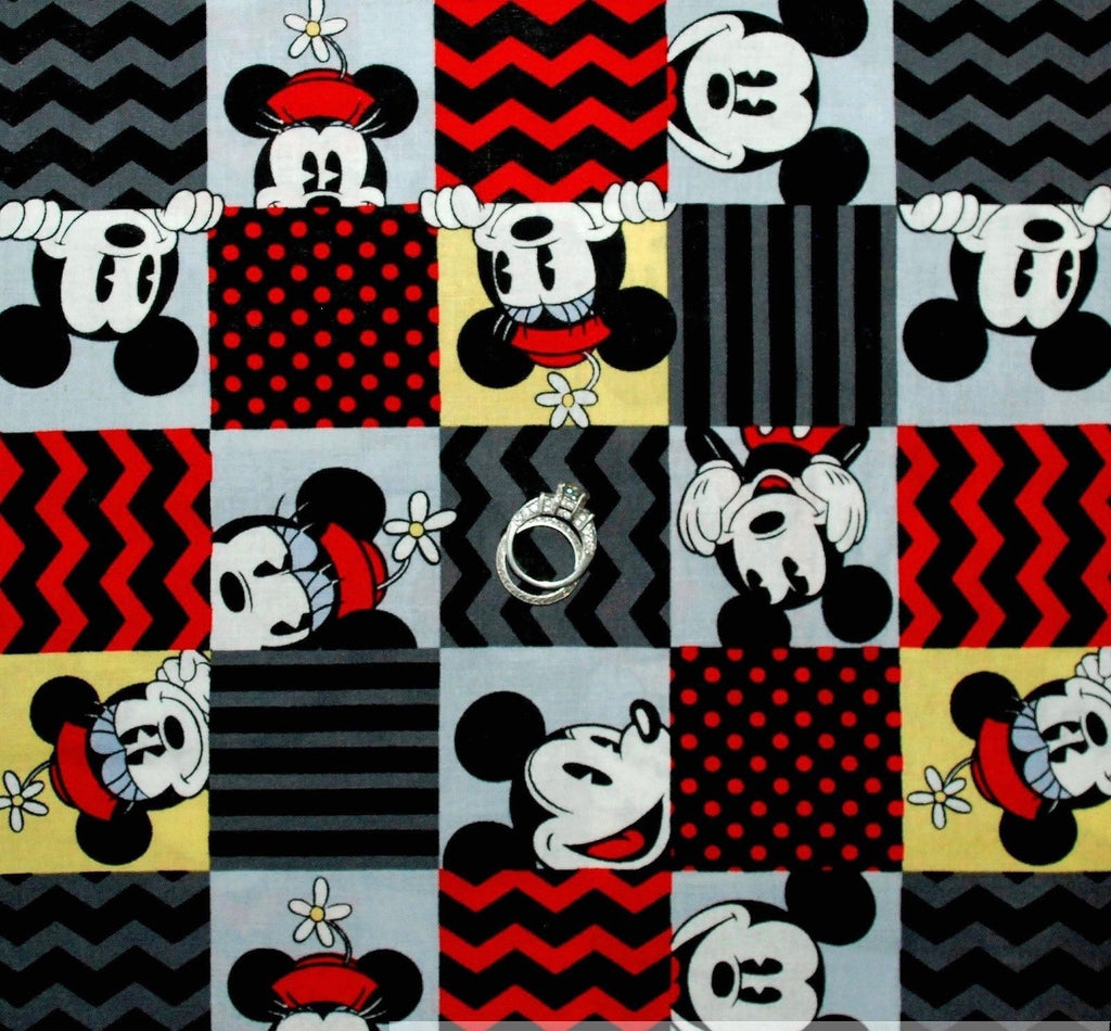 SPRINGS Disney Mickey Mouse.Priced per 25cm.