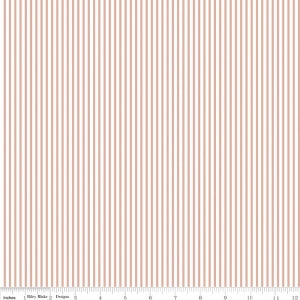 Riley Blake Designs Sparkle Cotton SC545-ROSEGOLD, Stripes
