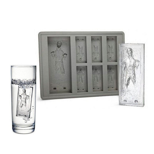 Star Wars Hans Solo Silicone Ice Tray - The Indulge Store