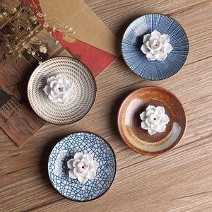 Traditional Japanese Ceramic Plates