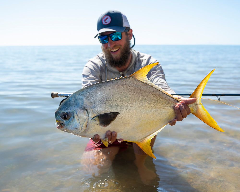 fly fishing for tusk and permit in North Queensland