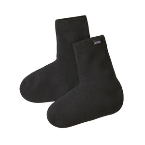 Patagonia Winter Weight Fleece Oversocks BLK