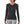 Load image into Gallery viewer, Patagonia Women's Capilene Thermal Weight Crew Baselayer BLK - Model Front