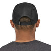 Patagonia P-6 Logo Trucker Hat BLK - Model Back