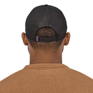 Patagonia P-6 Logo LoPro Trucker Hat BLK - Model Back