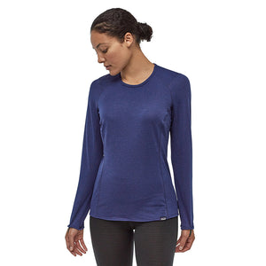 Patagonia Women's Capilene Thermal Weight Crew Baselayer CCNX - Model Front