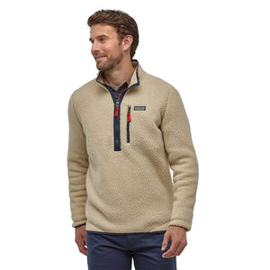 Patagonia Men's Retro Pile Pull Over ELKH - Model Front