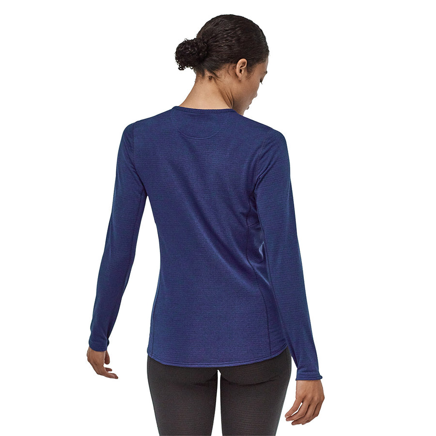 Patagonia Women's Capilene Thermal Weight Crew Baselayer CCNX - Model Back