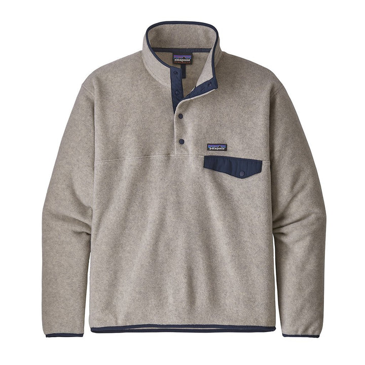 Patagonia Men's Light Weight Synch Snap-T Pull Over OAT - Front