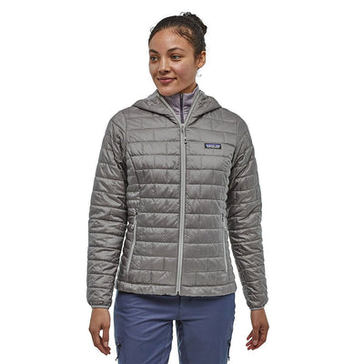 Patagonia Women's Nano Puff Insulated Hoody FEA - Model Front