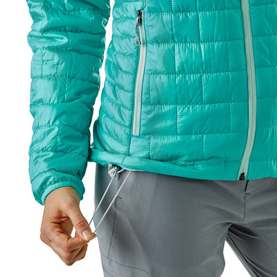 Patagonia Women's Nano Puff Insulated Hoody STRB - Pull
