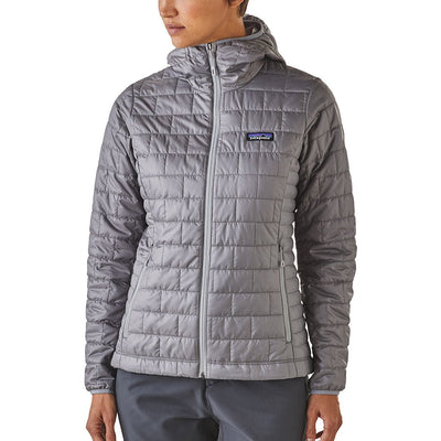 Patagonia Women's Nano Puff Insulated Hoody FEA - Model Front 2