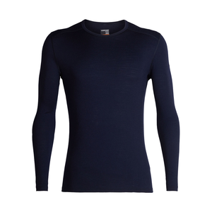 Icebreaker Men's 200 Oasis LongSleeve Crewe - Midnight Navy