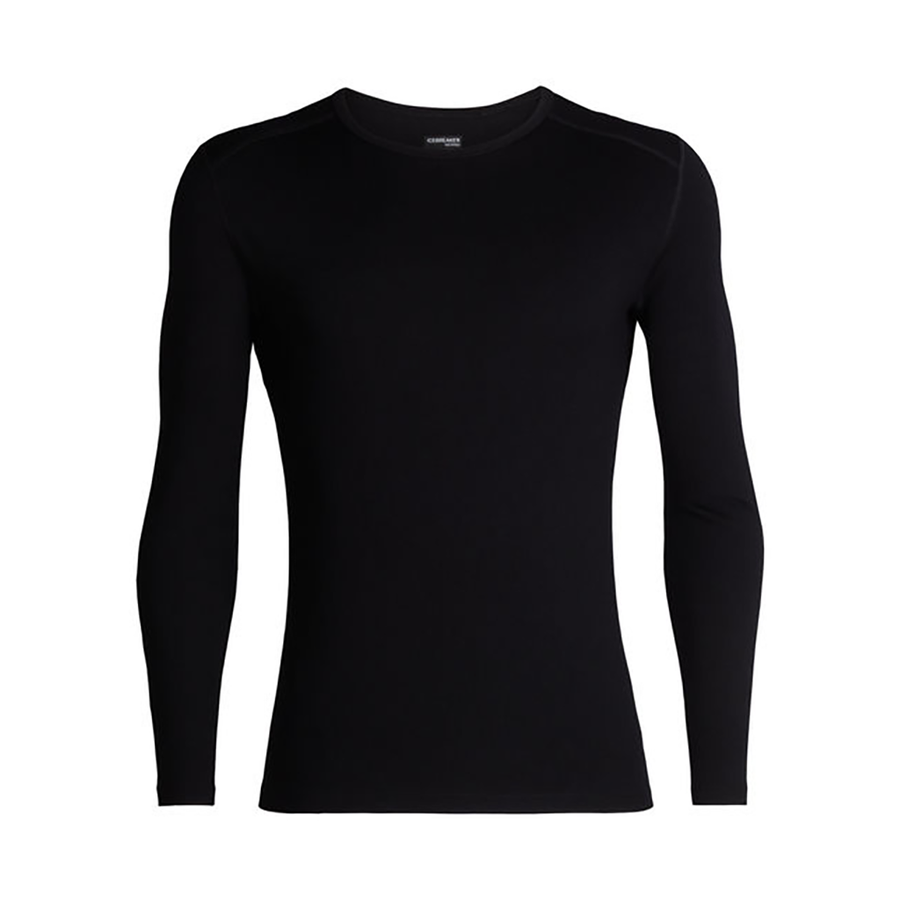 Icebreaker Men's 260 Tech LongSleeve Crewe - Black