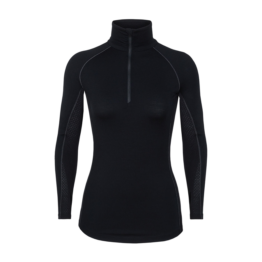 Icebreaker Women's Bodyfitzone 200 Zone Long Sleeve Half Zip