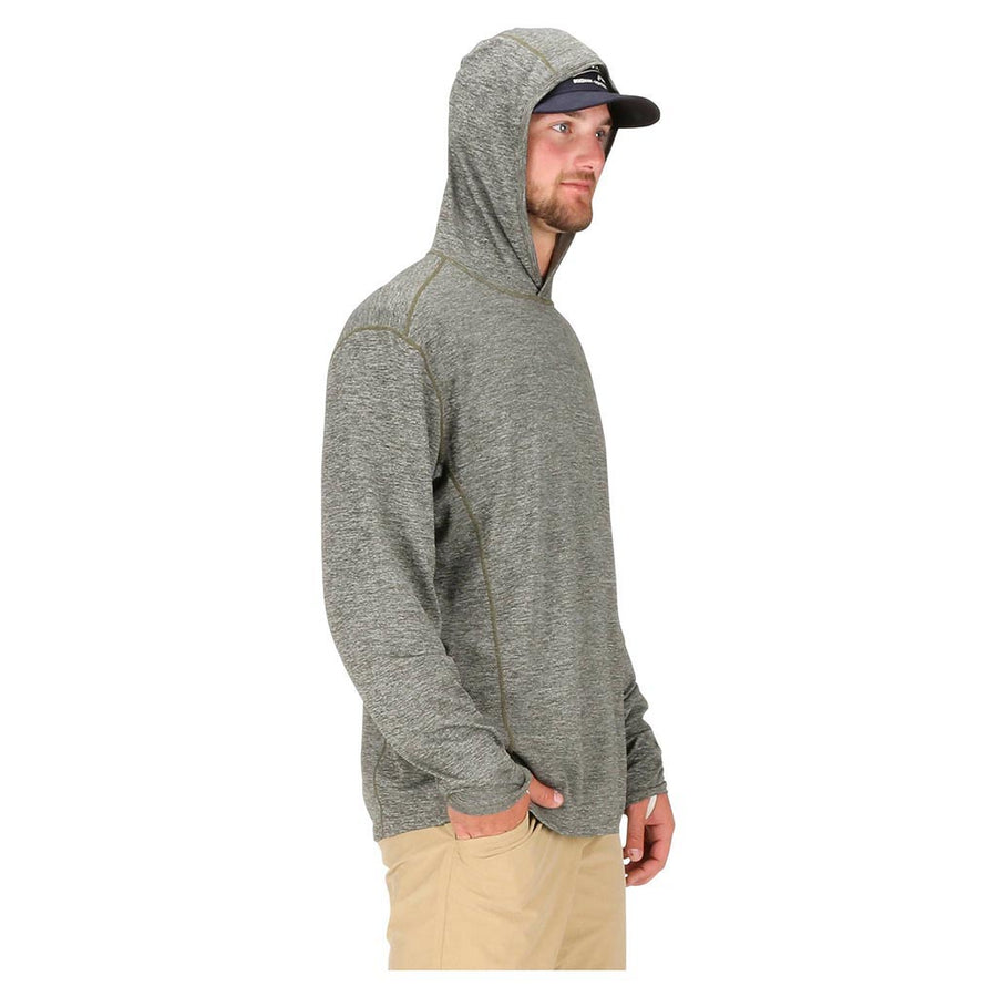 Simms Men's Bugstopper Hoody - Foliage model 2