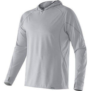 NRS Men's H2Core Silkweight Hoodie - quarry hero