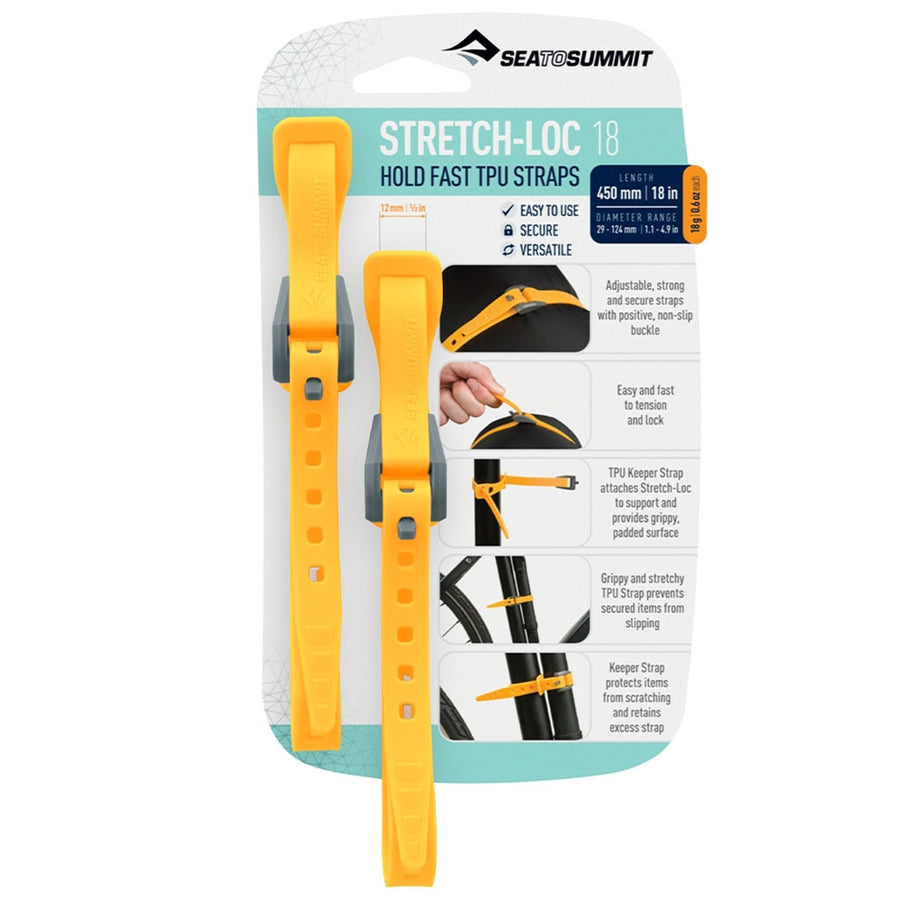 Sea to Summit Stretch-Loc TPU Straps - hero