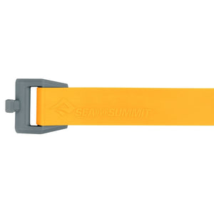 Sea to Summit Stretch-Loc TPU Straps - yellow detail 2