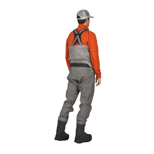 Simms G4 Pro Wader - Model Fullbody Back