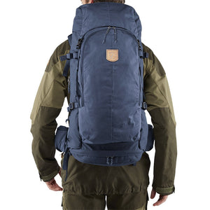 Fjallraven Keb 52 Litre Backpack Storm - Model Back