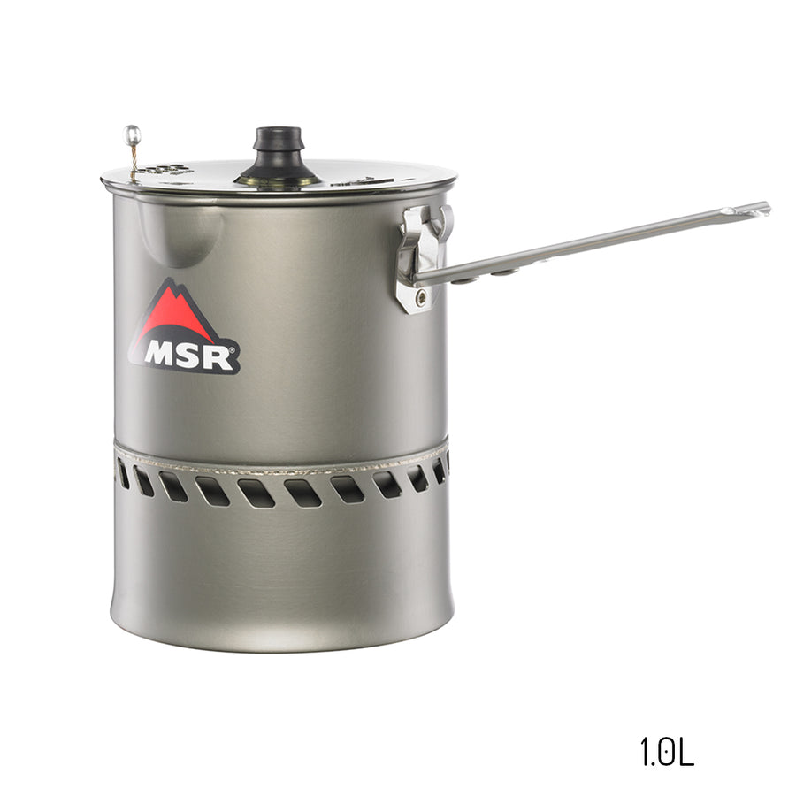 MSR Reactor Stove System - The Ultimate 4 Season Solo Stove