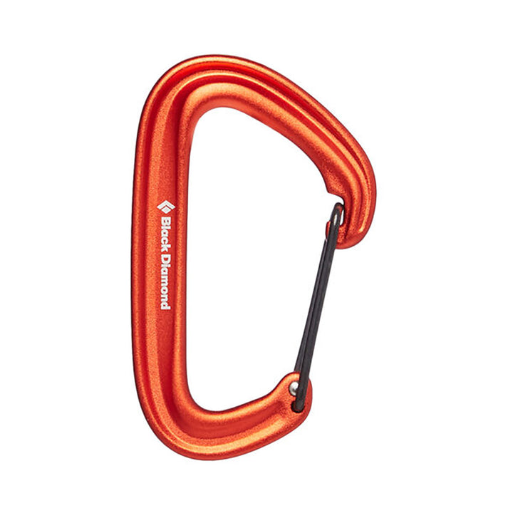 Black Diamond Litewire Carabiner - orange