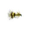 Fulling Mill Jig Bugger Olive TN - Barbless Wet Fly