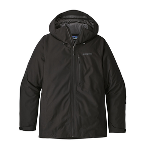 Patagonia Men's Powder Bowl Jacket BLK - Front