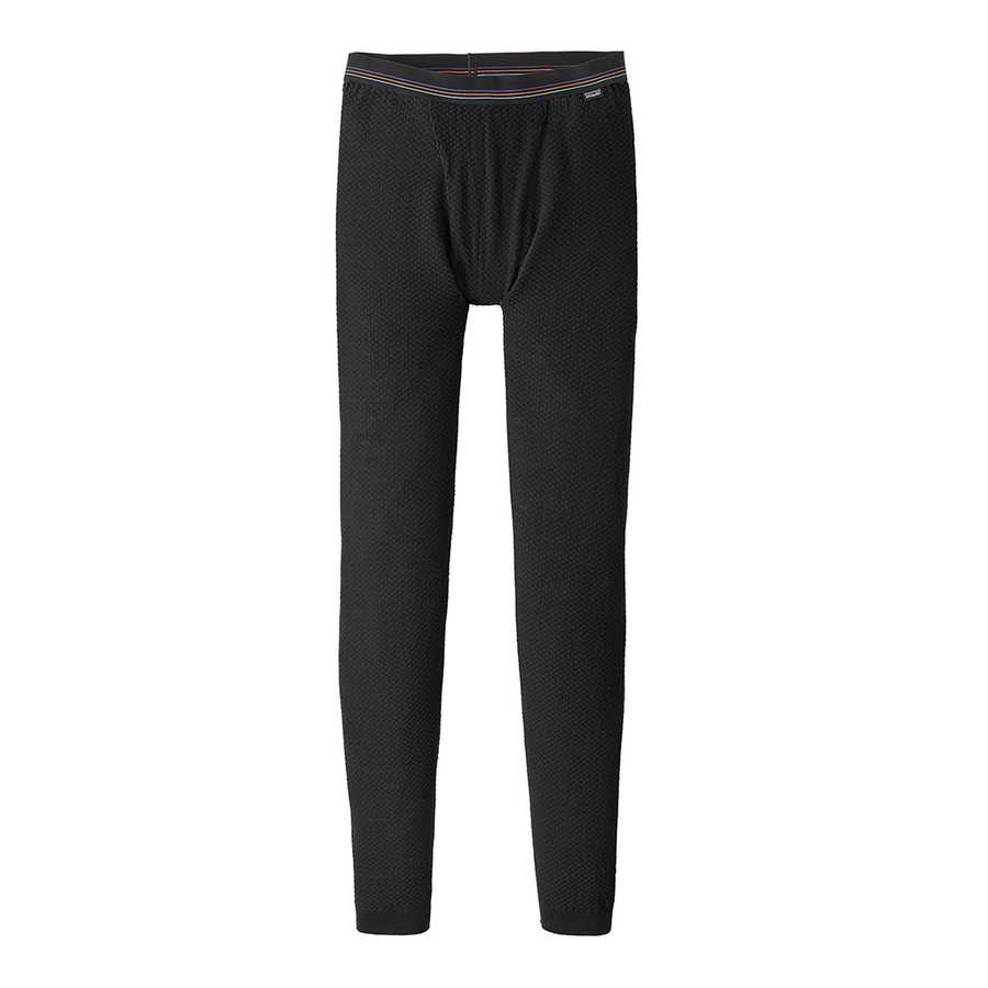 Patagonia Men's Capilene Air Bottoms BLK - Front