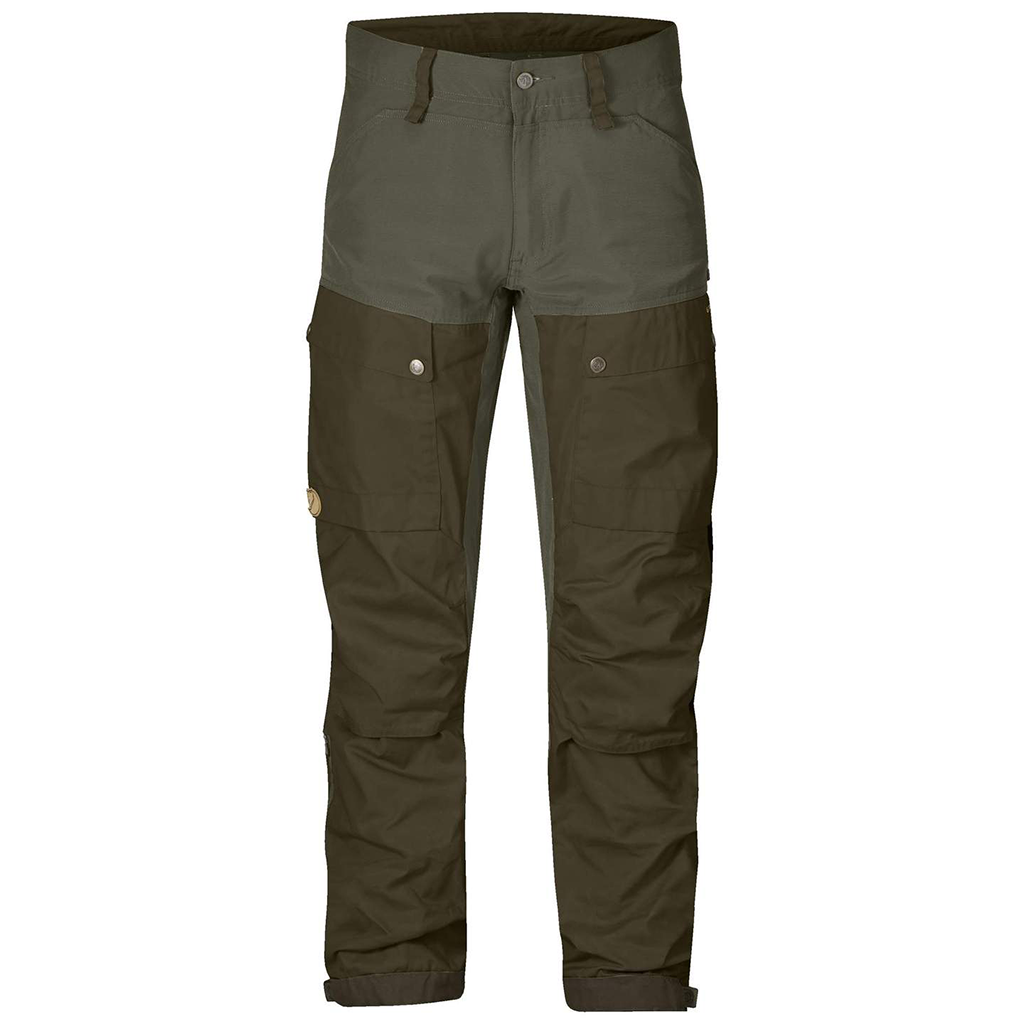 Fjallraven Mens Keb Trousers Deep ForestLaurel Green