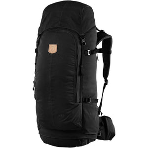 Fjallraven Keb 72 Litre Backpack Black - Front