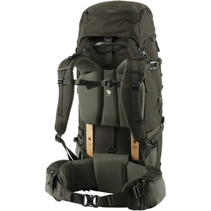 Fjallraven Keb 72 Litre Backpack Olive - Back
