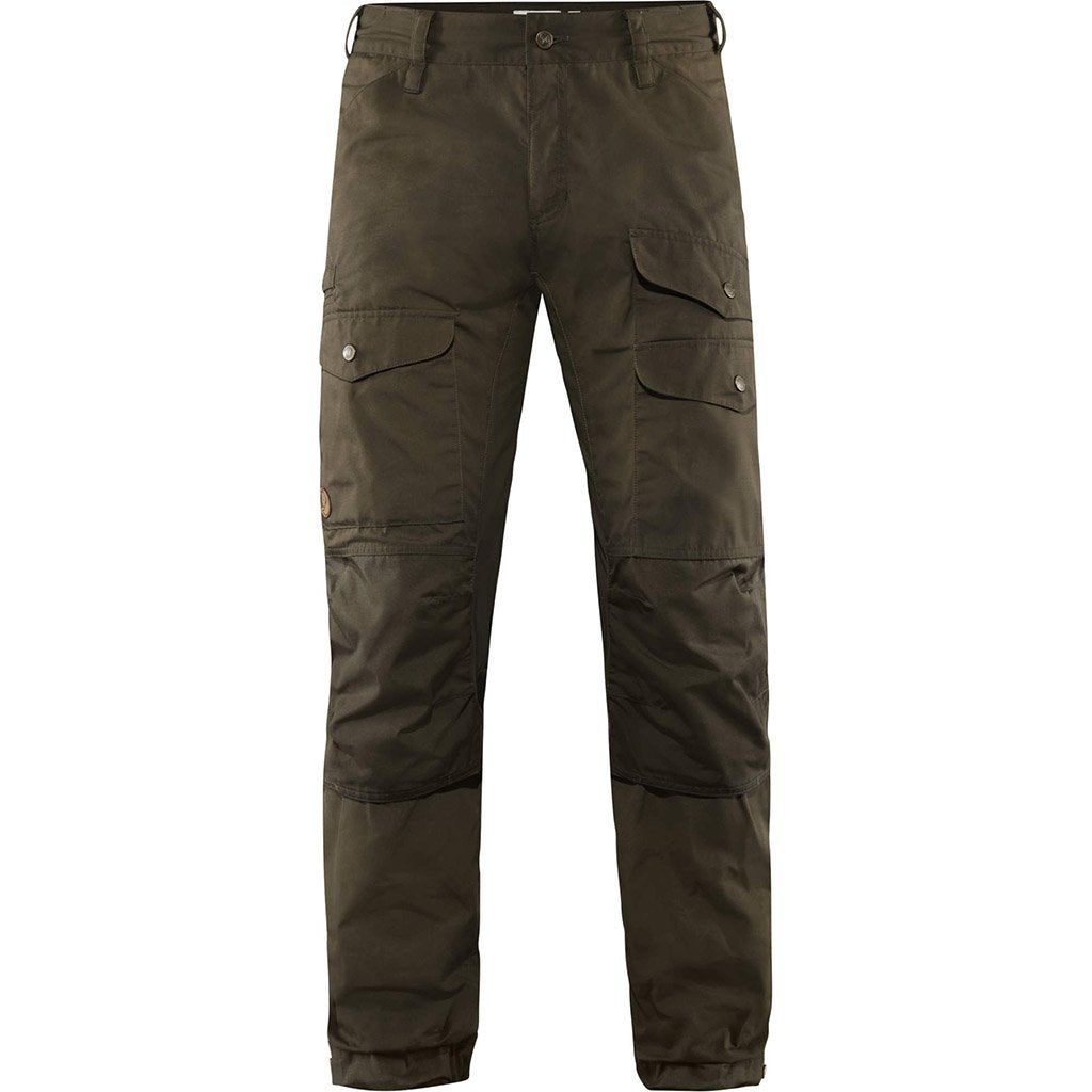 Fjallraven Men's Vidda Pro Vented Trousers Dark Olive - Front