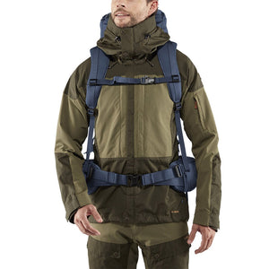 Fjallraven Keb 72 Litre Backpack Storm - Model Front
