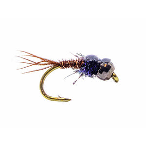 Category 3 York - Black Tungsten Bead Nymph