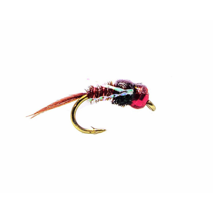 Category 3 Pole Position - Red Tungsten Bead Nymph