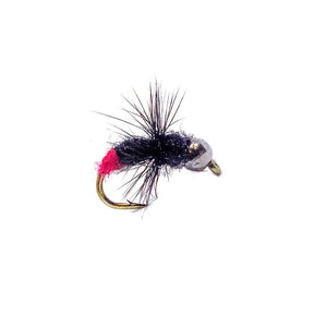Category 3 Crucial Ant - Black Tungsten Bead Nymph