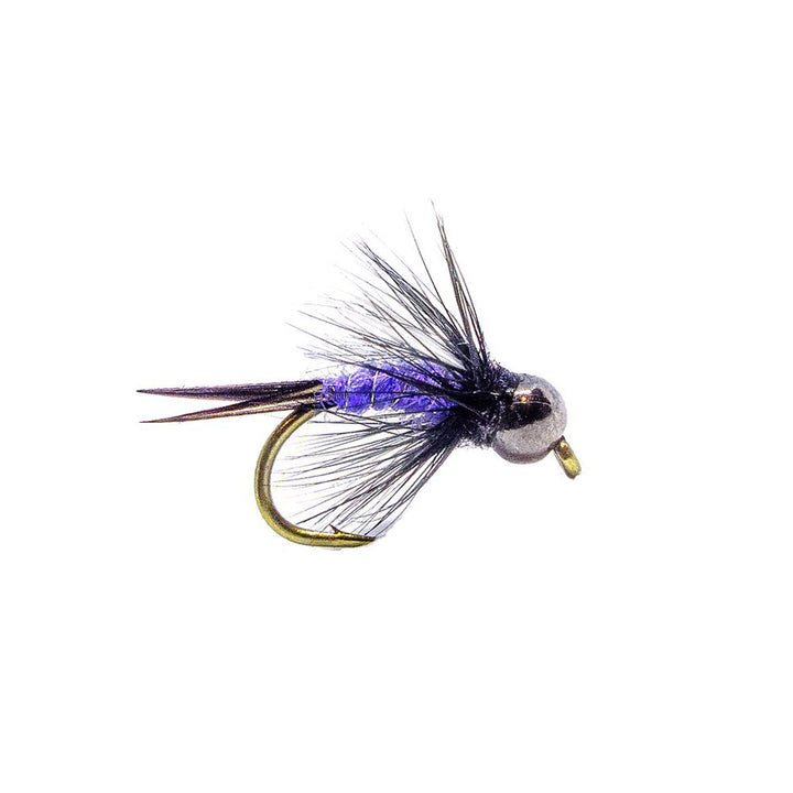 Category 3 Prince of UV - Black Tungsten Bead Nymph