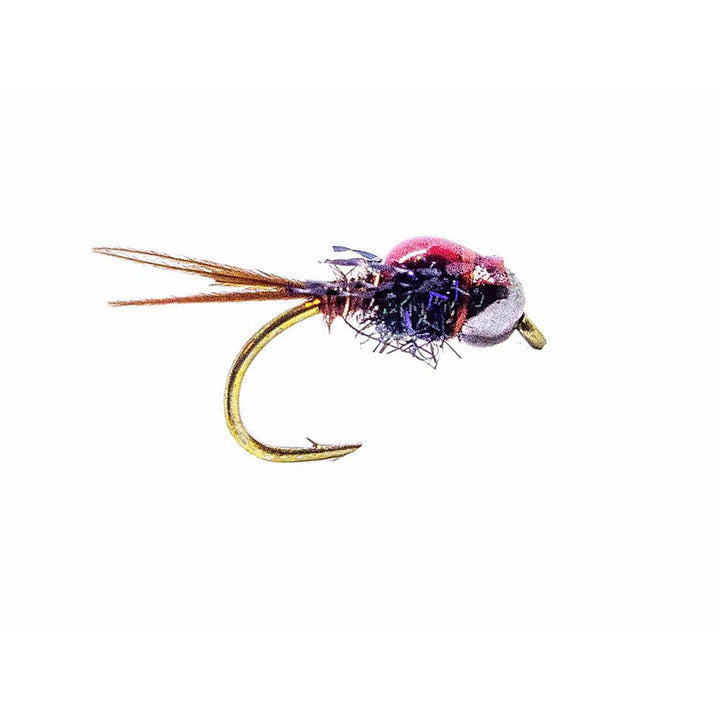 Category 3 Flashback Pheasant Tail - Black Tungsten Bead Nymph